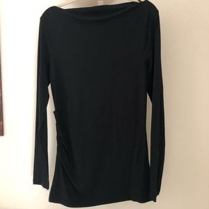 Banana Republic black tunic
